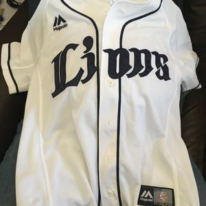 Japanese baseball team jersey
